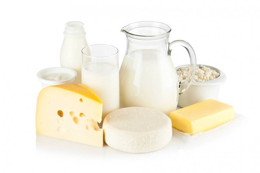 молочные продукты при похудении список