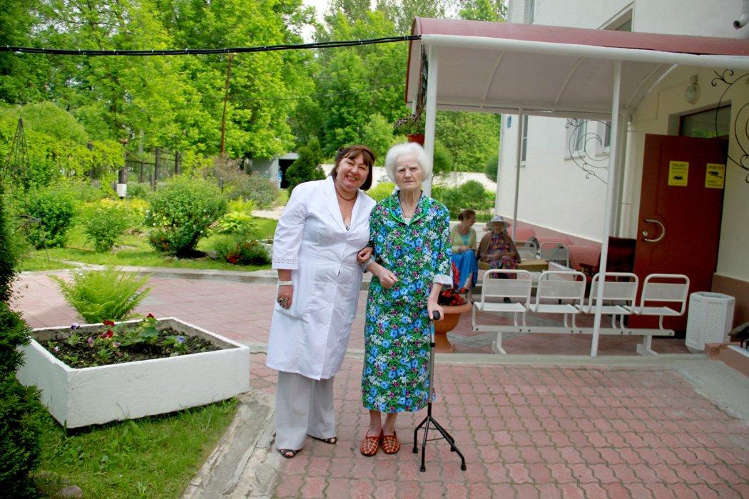 Пансион для пожилых альцгеймера