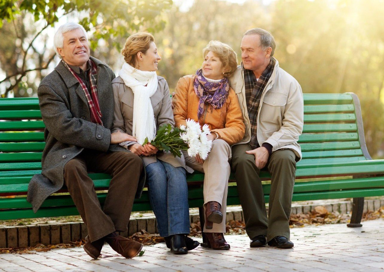 знакомства пожилых людей в спб