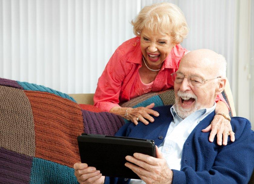 пожилая семья видео